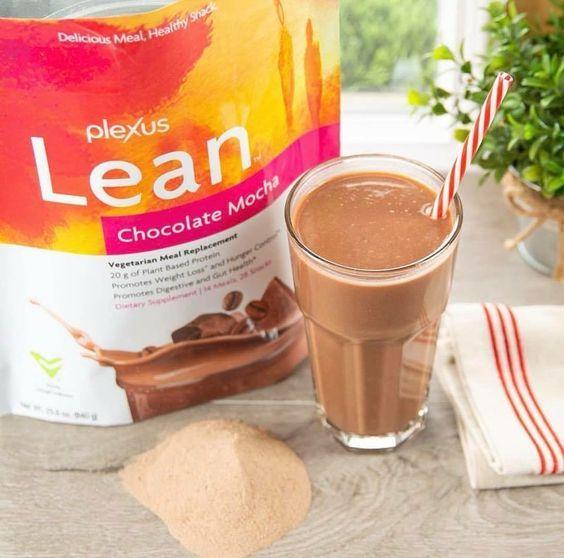 plexus worldwide lean vegan rich chocolate meal replacement